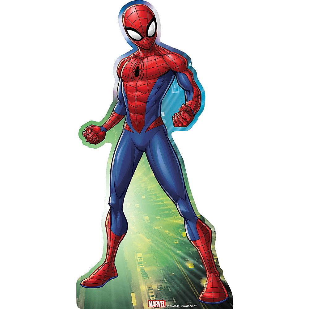 Webbed Wonder Spider-Man Standee Image #1