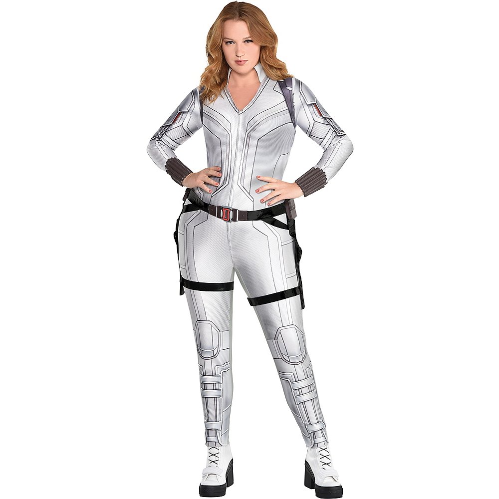 Adult Black Widow Snow Suit Costume Plus Size - Marvel Image #1