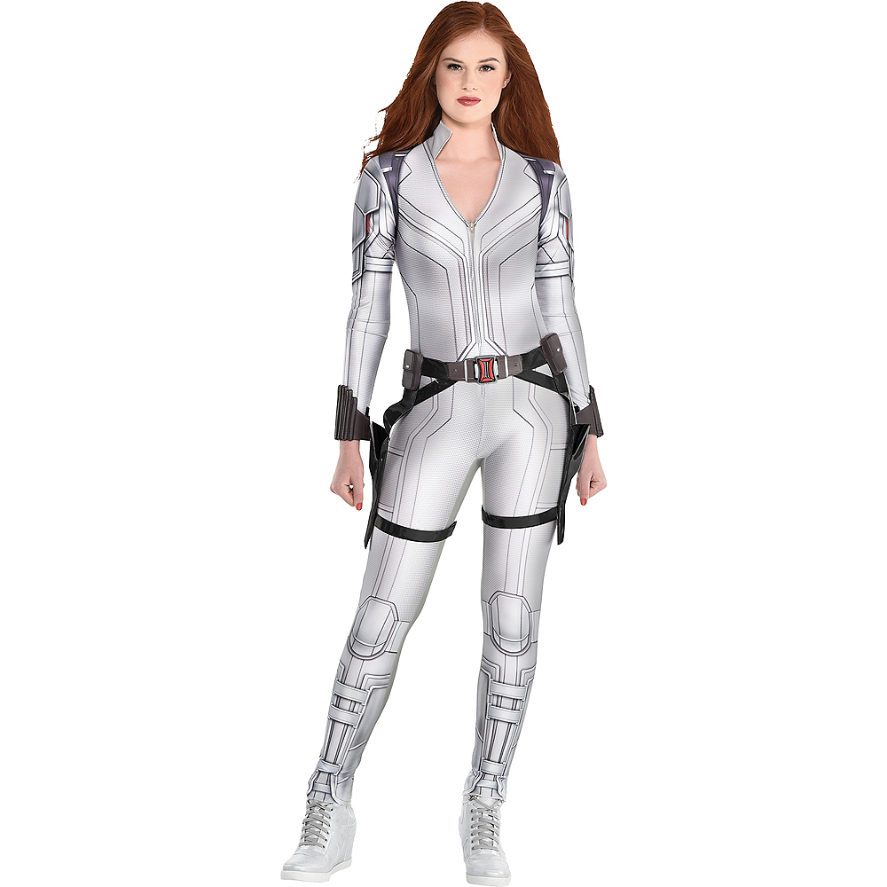 Adult Black Widow Snow Suit Costume - Marvel Image #1