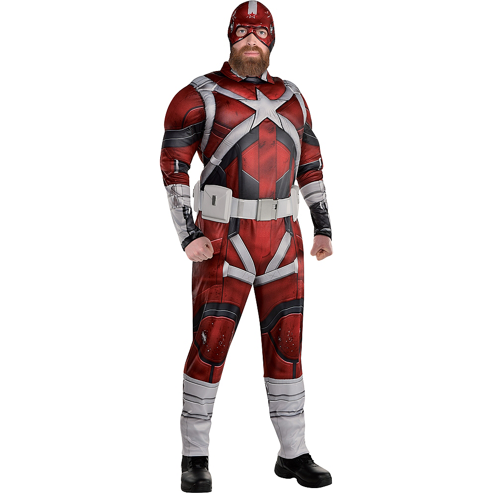 Adult Red Guardian Costume Plus Size - Black Widow Image #1