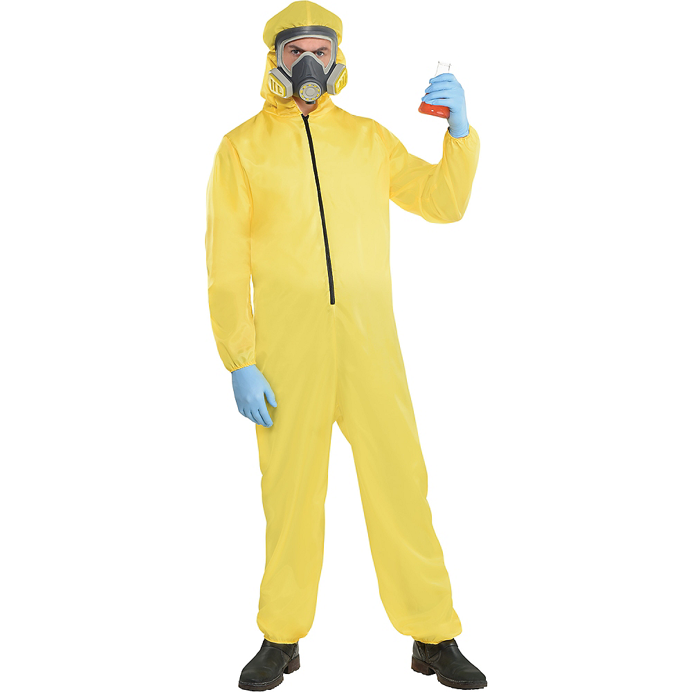 Adult Hazmat Suit Costume Image #1