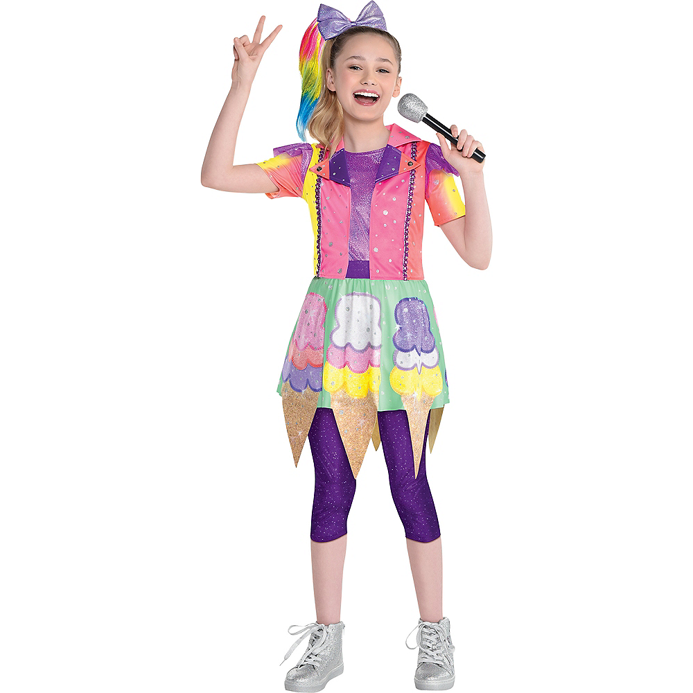 2020 Halloween Costumes Nickelodeon Party City Child Ice Cream Cone JoJo Siwa Costume   Nickelodeon | Party City