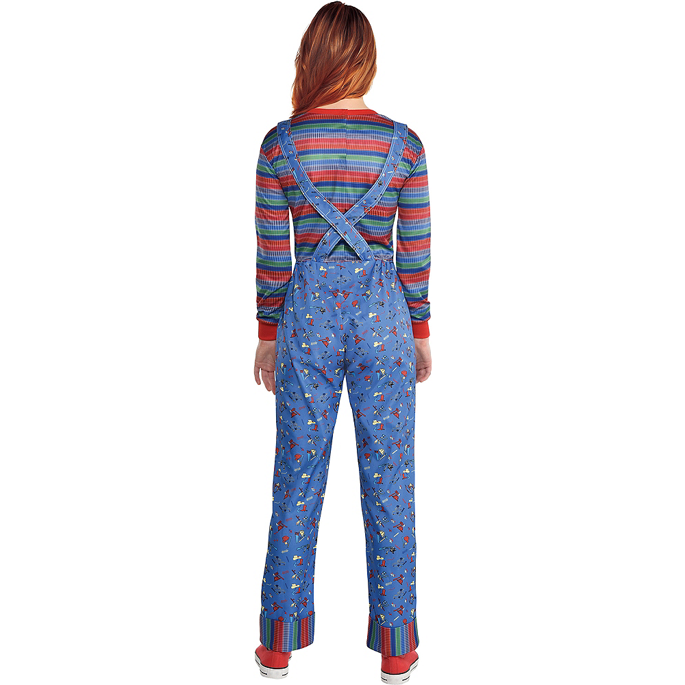 Nav Item for Womens Chucky Costume - Child's Play Image #2