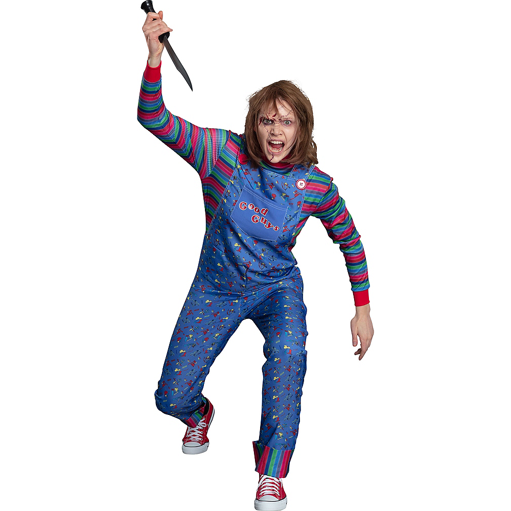 Nav Item for Womens Chucky Costume - Child's Play Image #3