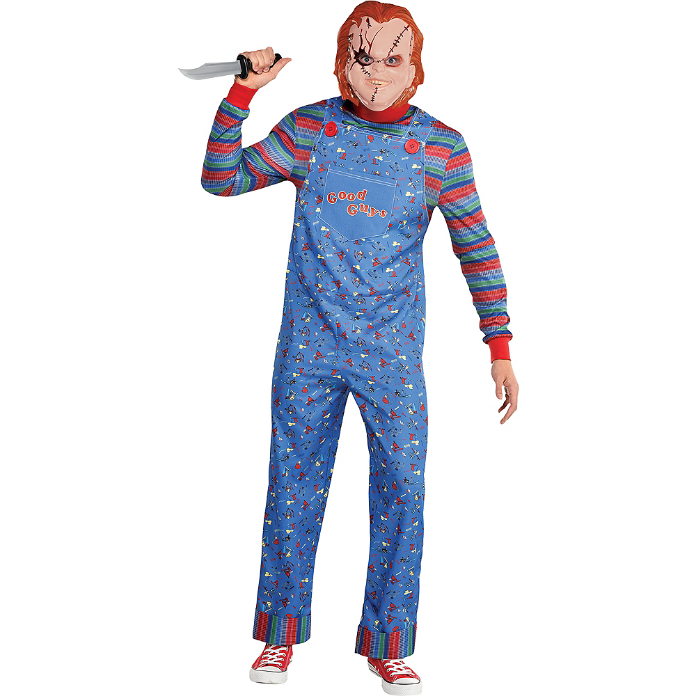 Nav Item for Mens Chucky Costume - Child's Play Image #1