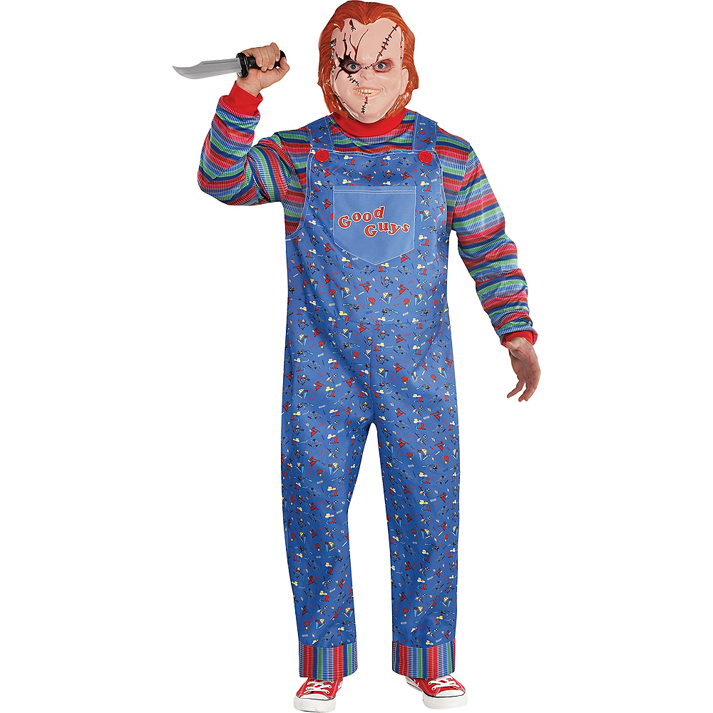 Mens Chucky Costume Plus Size - Child's Play Image #1
