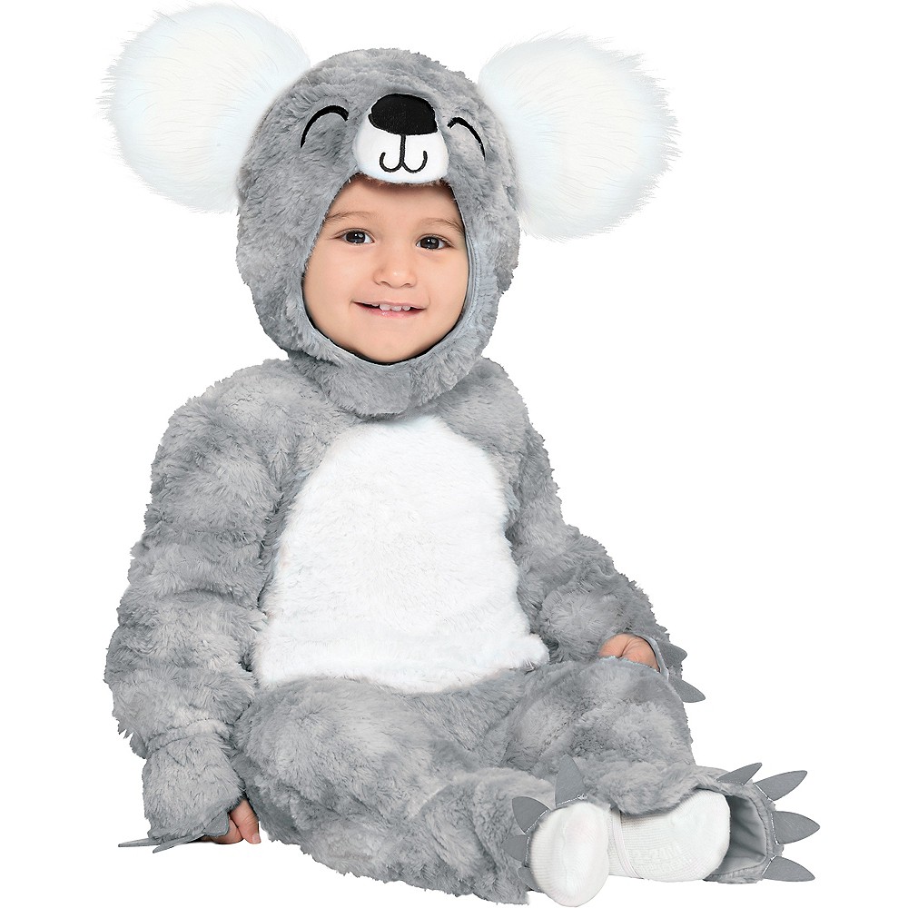 Baby Soft Cuddly Koala Bear Costume Image #1