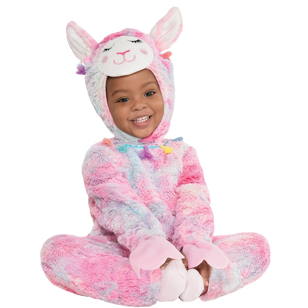 Nav Item for Baby Soft Cuddly Llama Costume Image #1