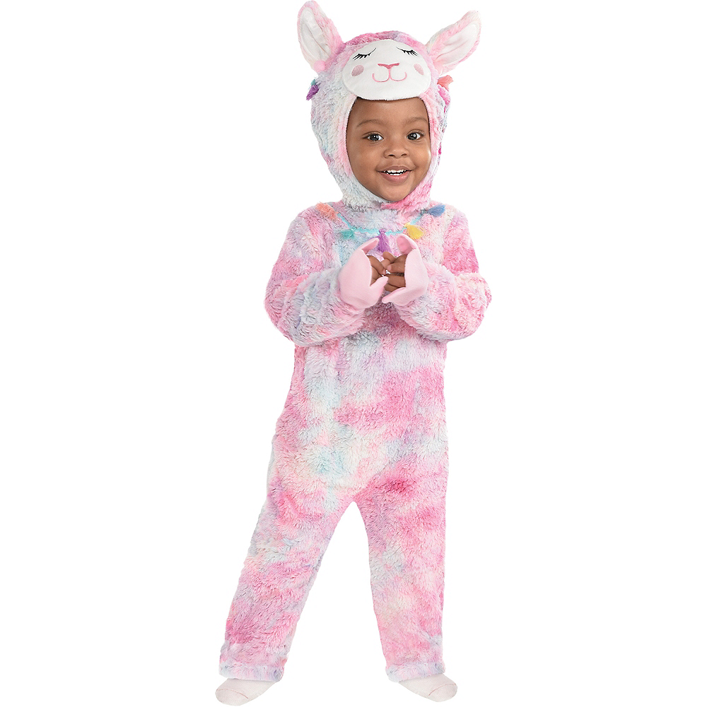 Nav Item for Baby Soft Cuddly Llama Costume Image #2