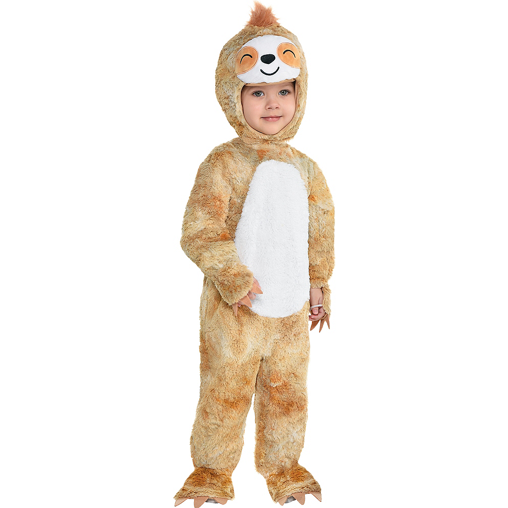 Baby Soft Cuddly Sloth Costume Image #2
