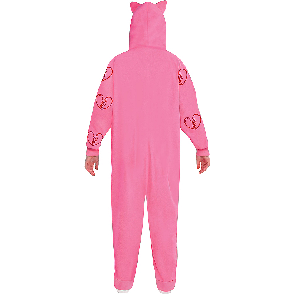 Adult Heart Break Onesie Harley Quinn Costume Plus Size - Birds of Prey Image #2