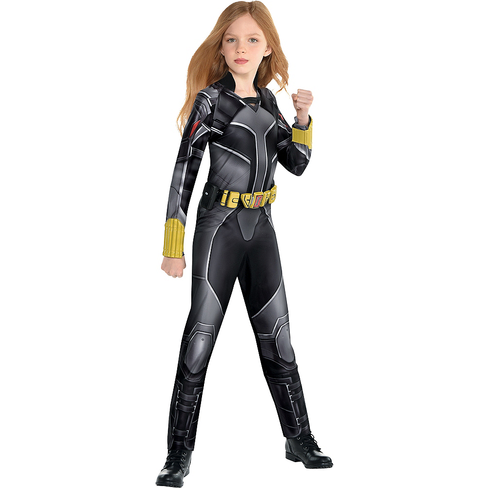 Child Black Widow Costume - Black Widow Movie Image #1