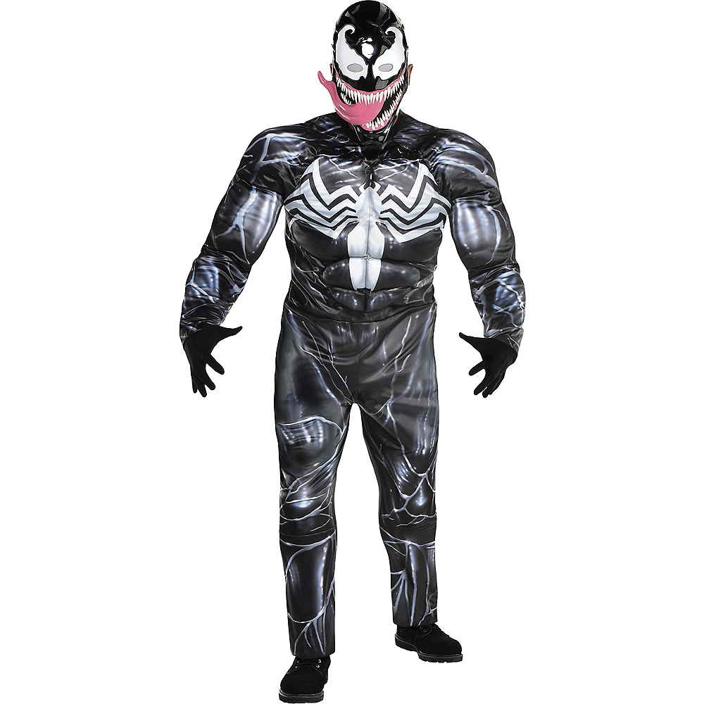 Adult Venom Costume Plus Size - Marvel Image #1