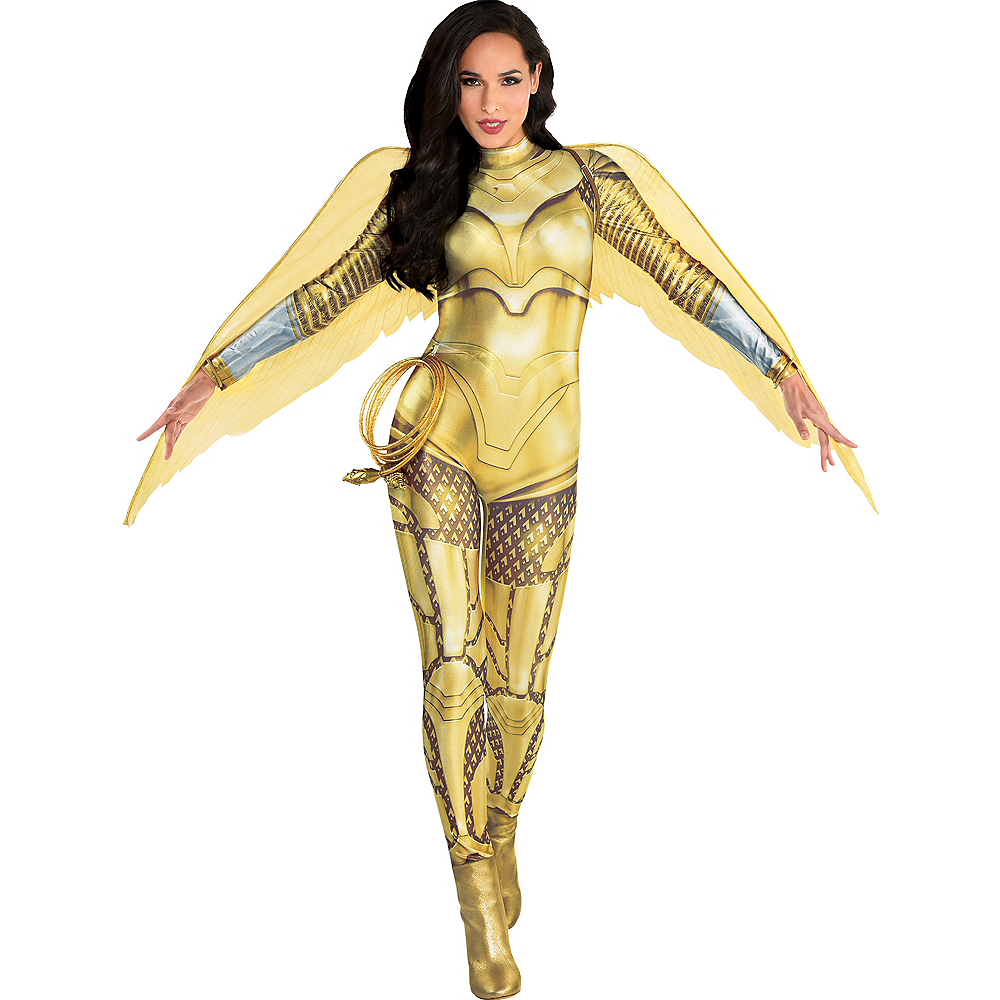 Adult Gold Armor Wonder Woman Costume - WW 1984 Image #1