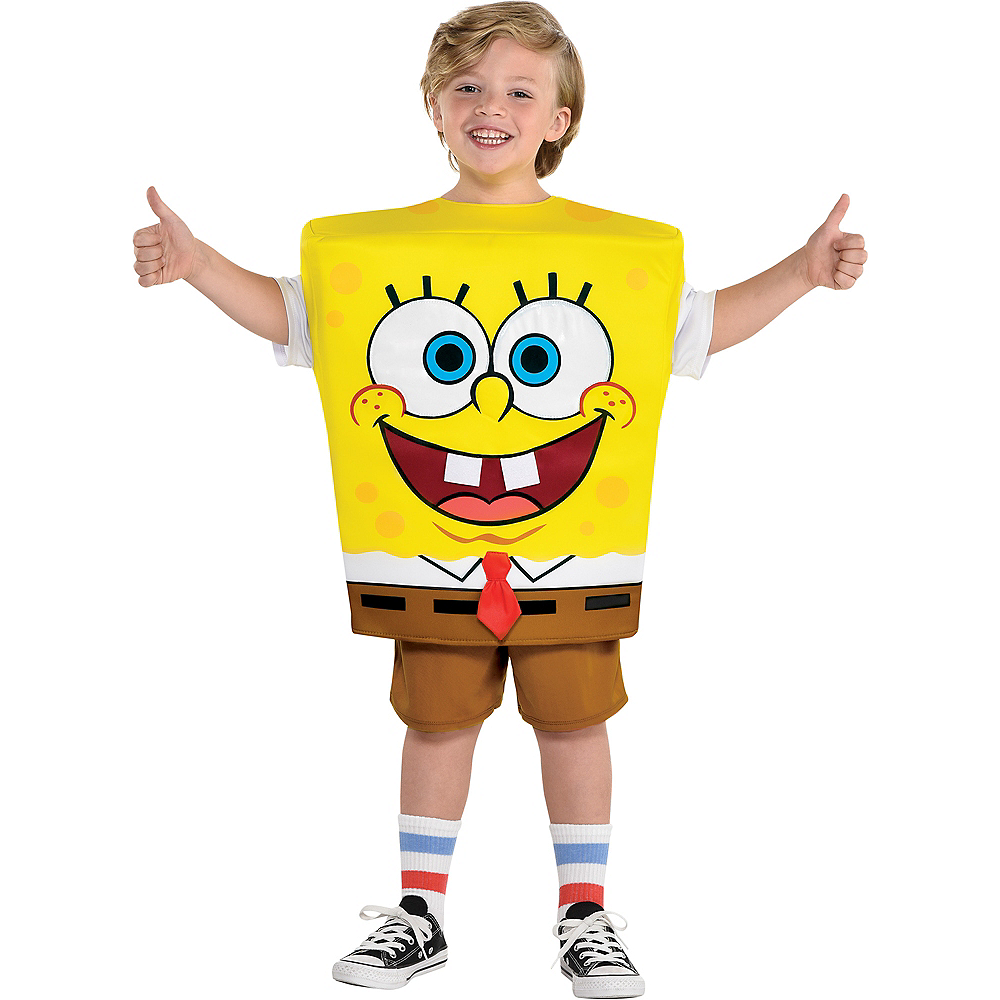 2020 Party City Halloween Costumes Nickelodeon Child SpongeBob SquarePants Costume   Nickelodeon | Party City