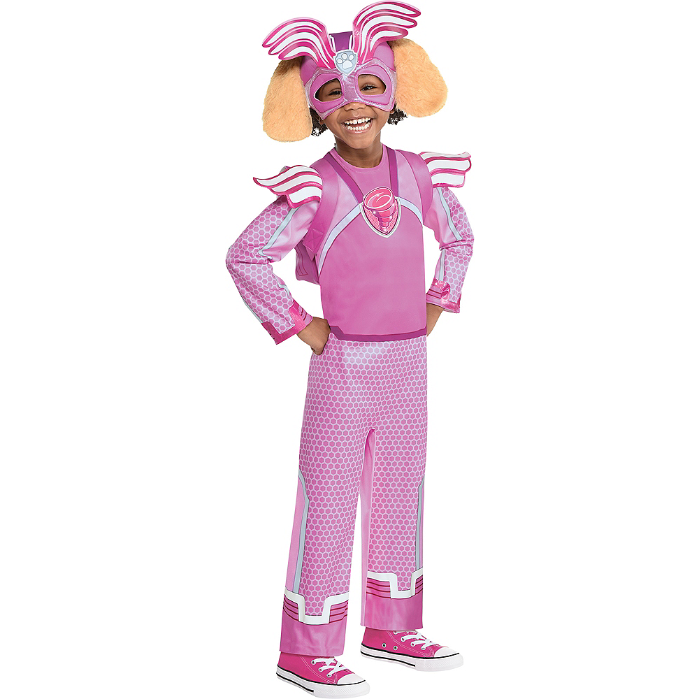 Nav Item for Child Light-Up Skye Costume - Nickelodeon PAW Patrol Mighty Pups Charged Up! Image #1