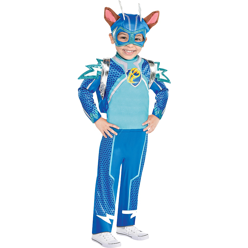Child Light-Up Chase Costume - Nickelodeon PAW Patrol Mighty Pups Charged Up! Image #1