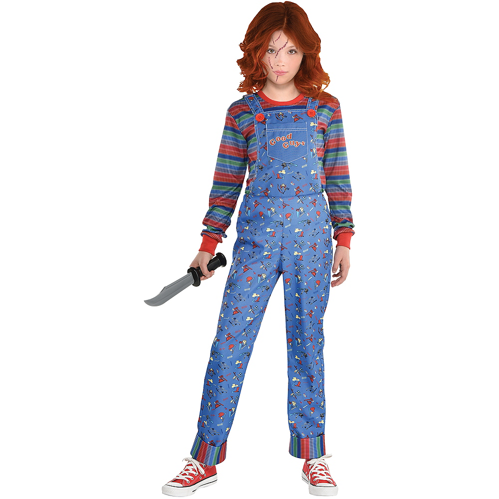 Girls Chucky Costume - Child's Play Image #1