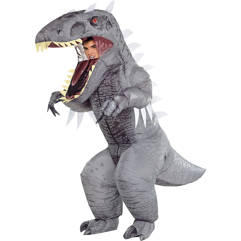 Adult Inflatable Indominus Rex Costume - Jurassic World Image #1