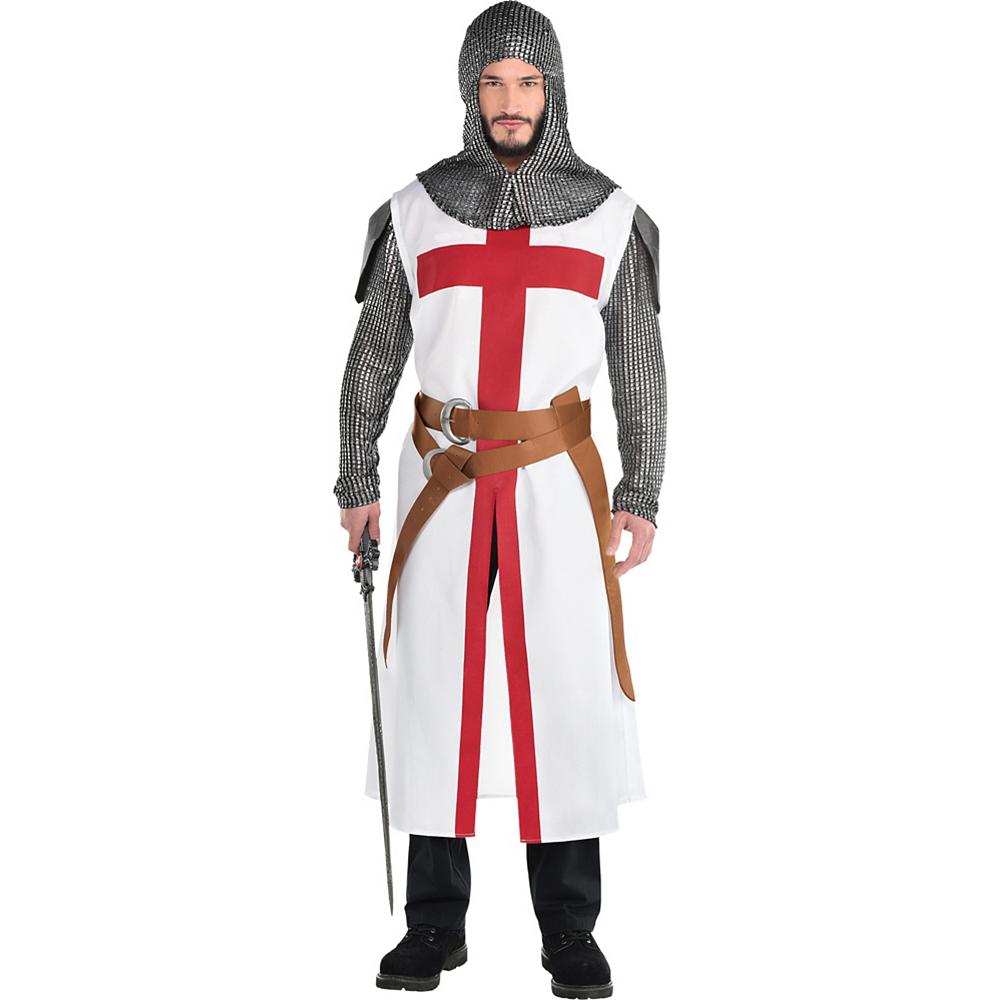 Adult Crusader Warrior Costume Image #1
