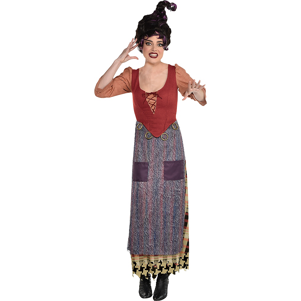 Nav Item for Adult Mary Sanderson Costume - Disney Hocus Pocus Image #1