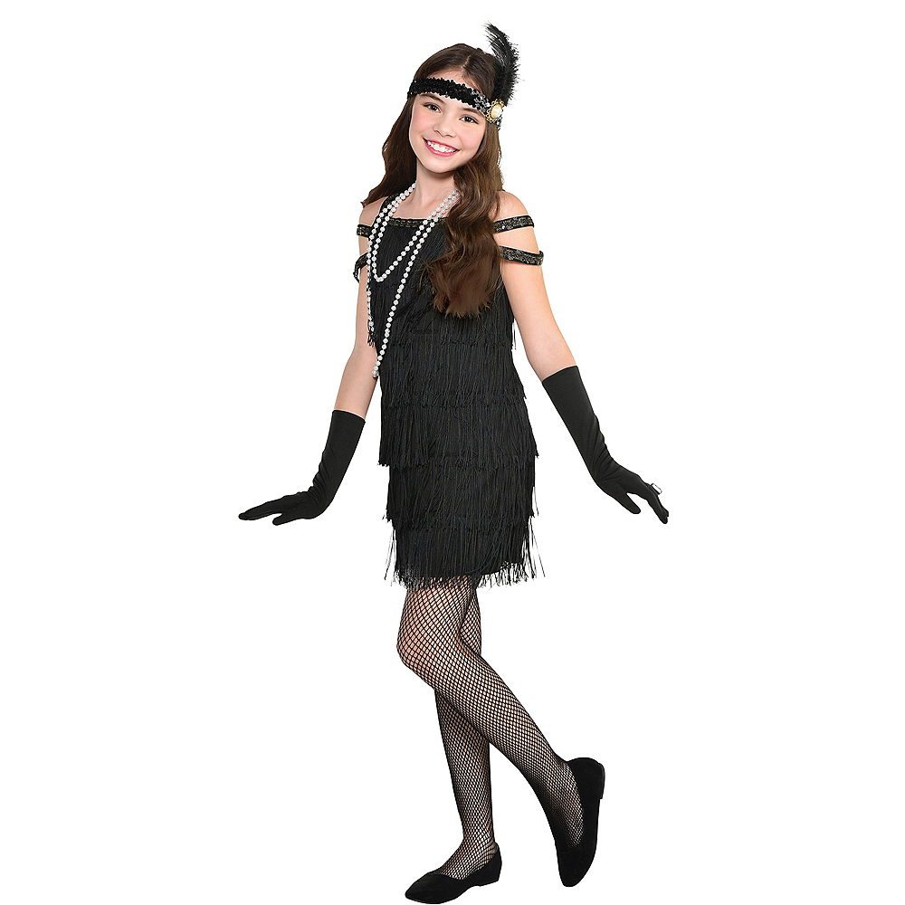 Nav Item for Child Roaring 20s Flapper Costume Image #1