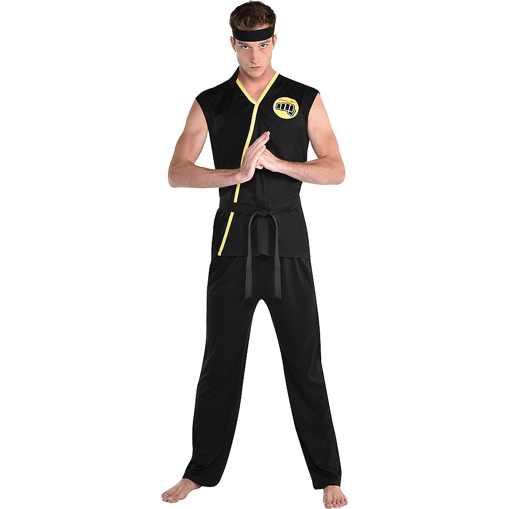 Adult Cobra Kai Costume Image #1