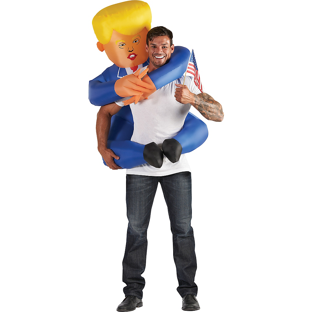 Adult Inflatable Leader Piggyback Costume Image #1