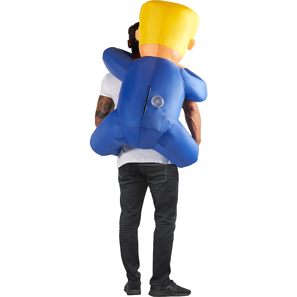 Adult Inflatable Leader Piggyback Costume Image #2