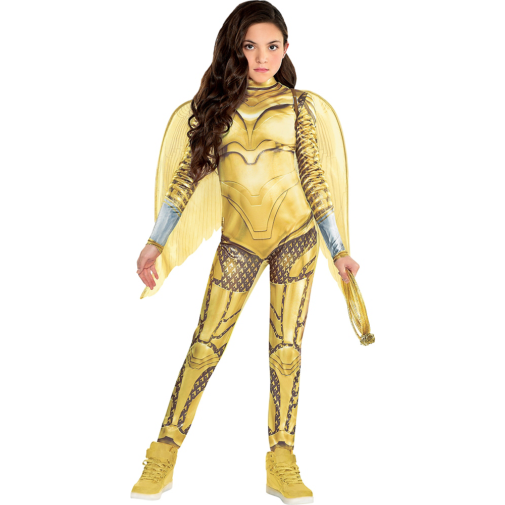 Gold Armor Wonder Woman Costume For Kids Ww 1984 Party City