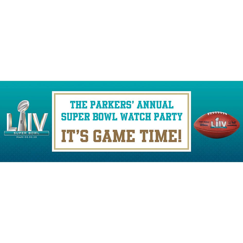 Custom Super Bowl Horizontal Banner Image #1