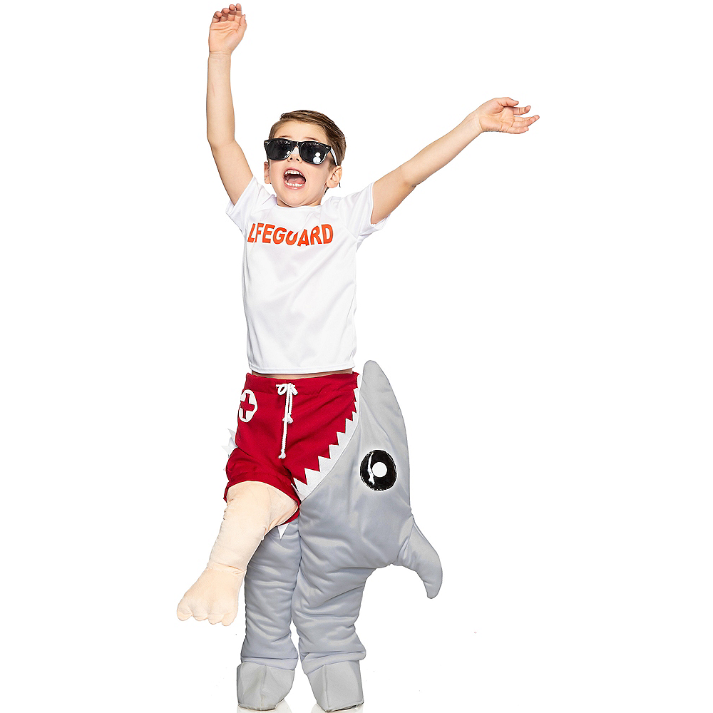 Child Shark Attack Costume Image #1