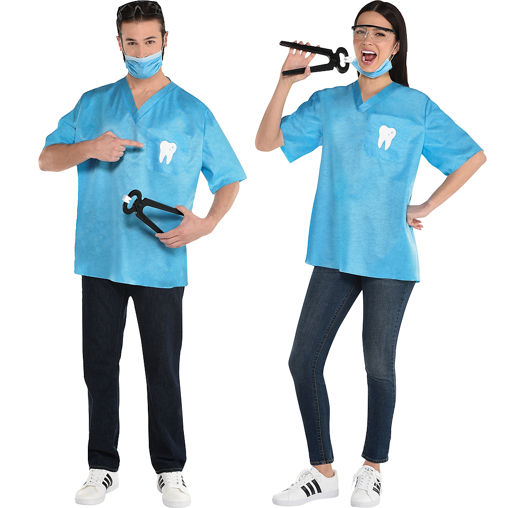 Adult Dentist Costume Kit Image #1