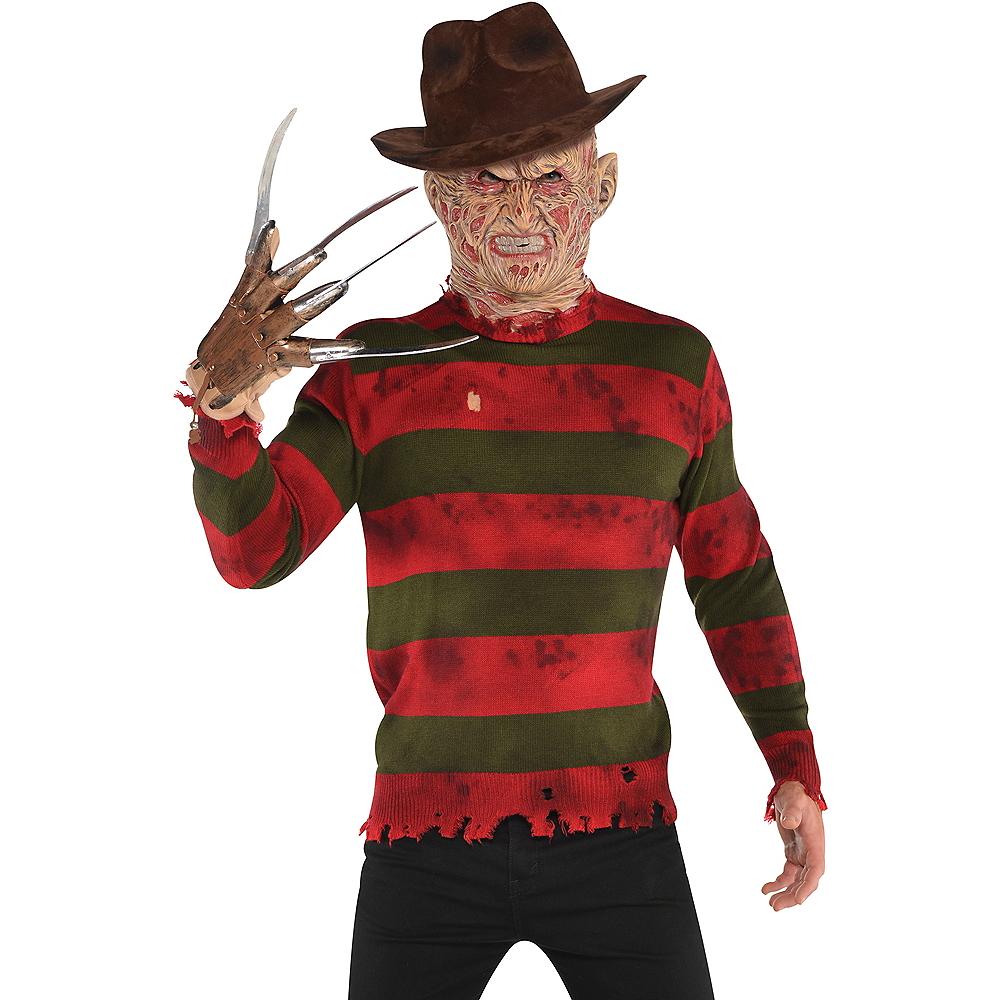 Adult Striped Nightmare on Elm Street Freddy Sweater