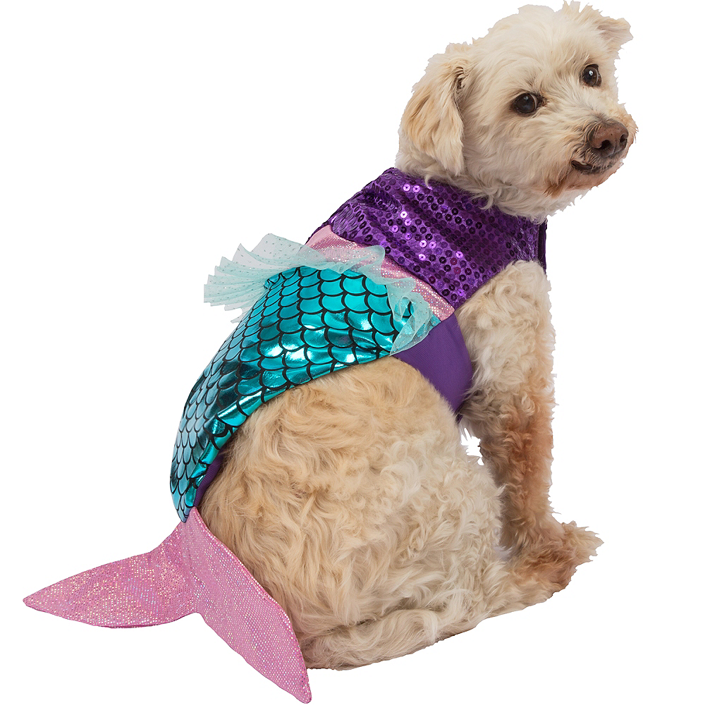 Graceful Mermaid Dog Costume Image #1