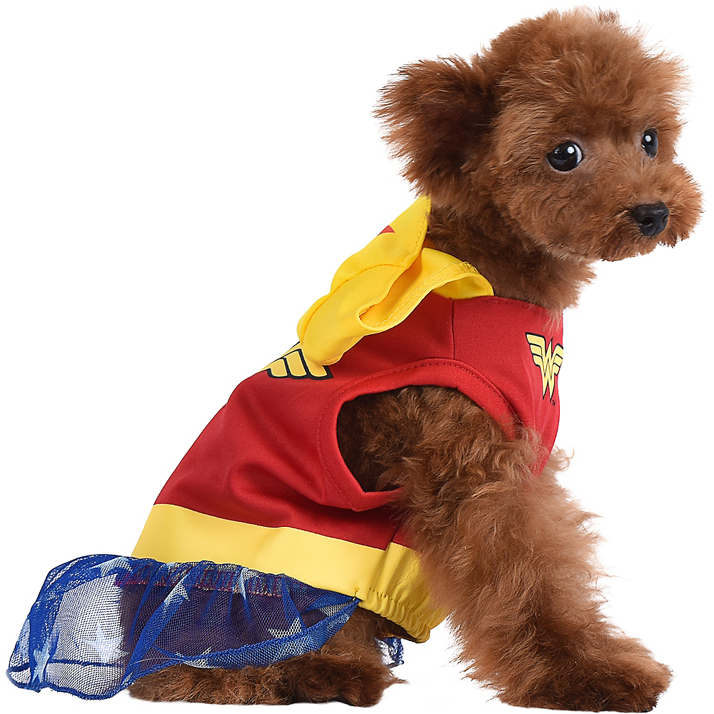 Nav Item for Wonder Woman Dog Costume & Toy - DC Comics Image #2