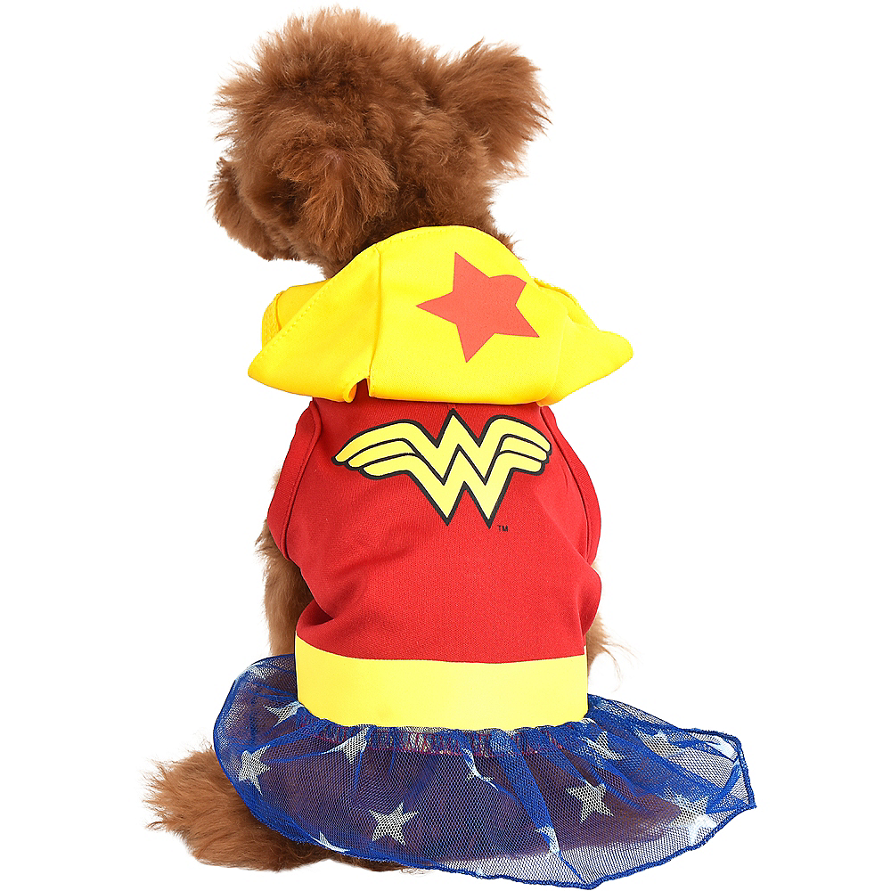 Nav Item for Wonder Woman Dog Costume & Toy - DC Comics Image #3