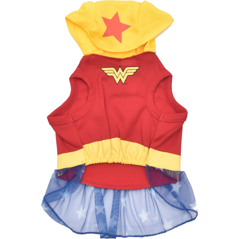 Nav Item for Wonder Woman Dog Costume & Toy - DC Comics Image #4