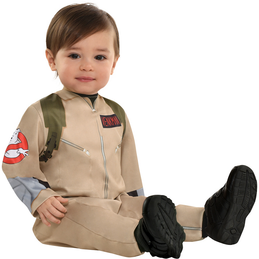 Nav Item for Baby Ghostbusters Costume Image #2