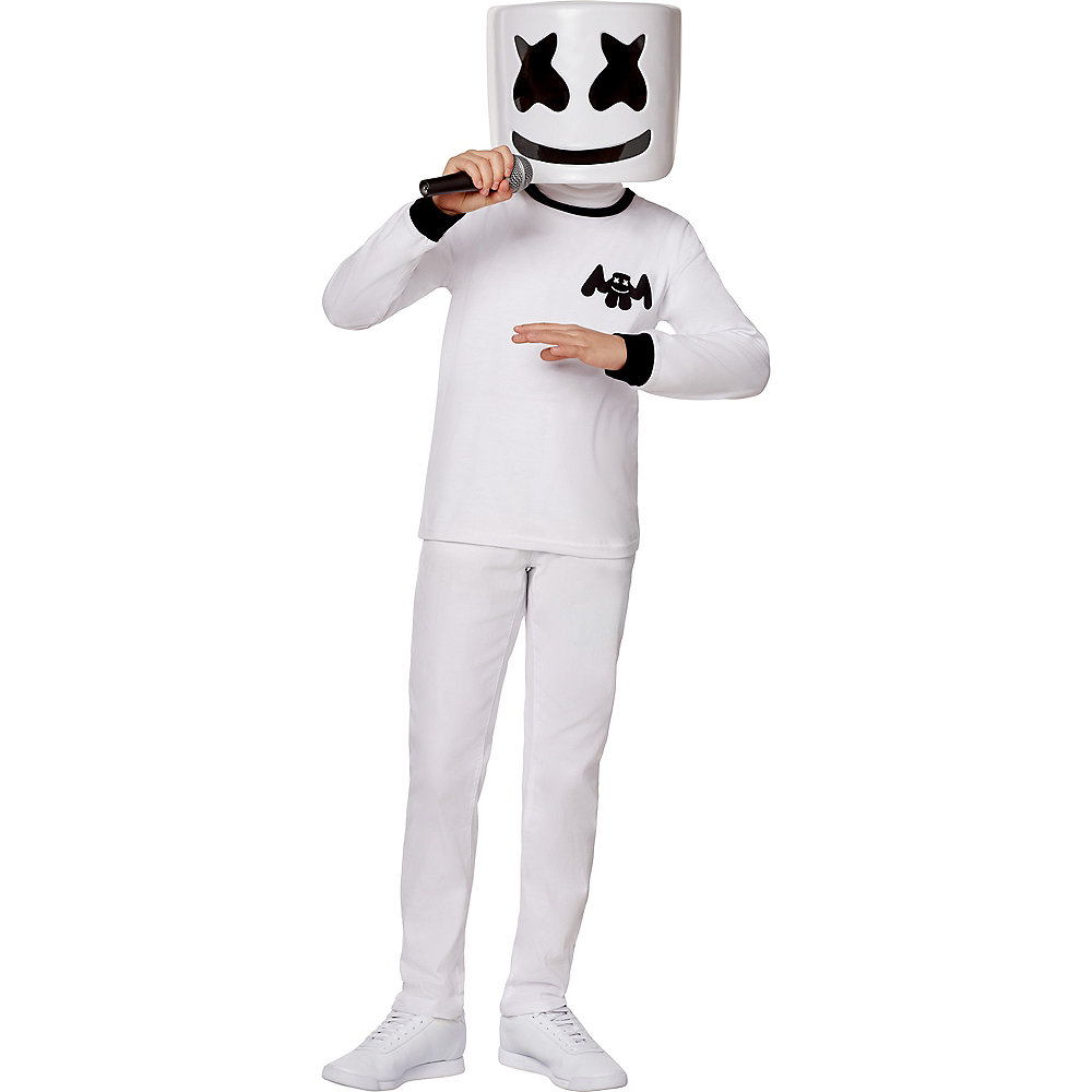 Child Marshmello Costume Image #1