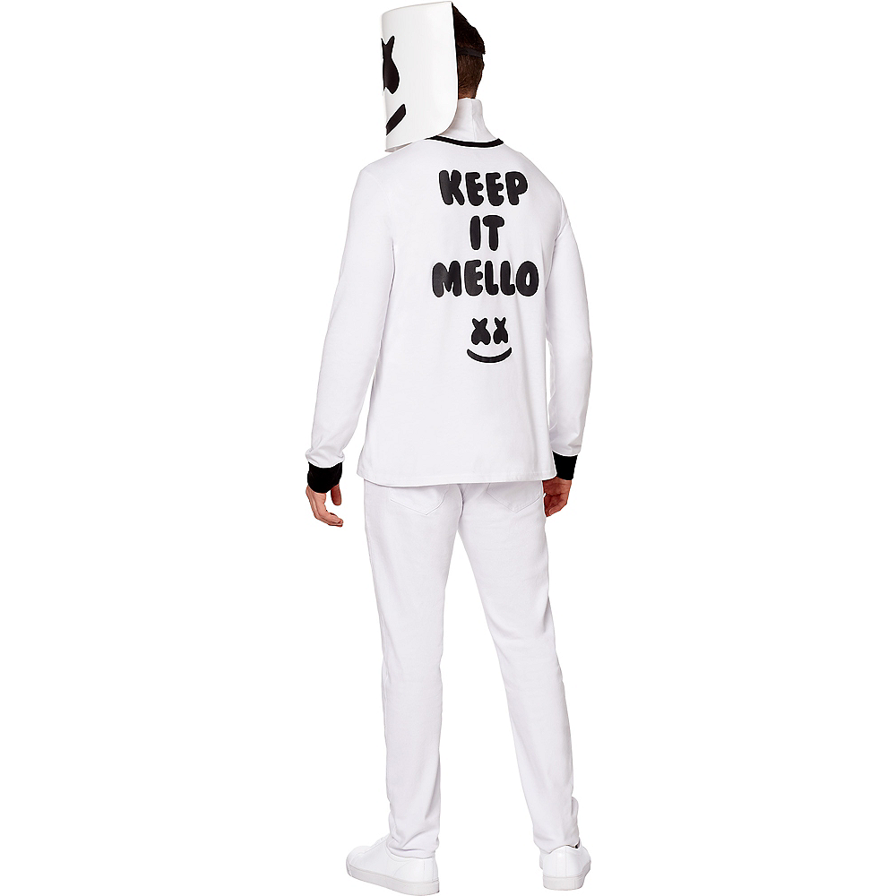 Adult Marshmello Costume Image #2