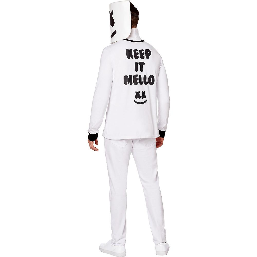 Adult Marshmello Costume Image #2
