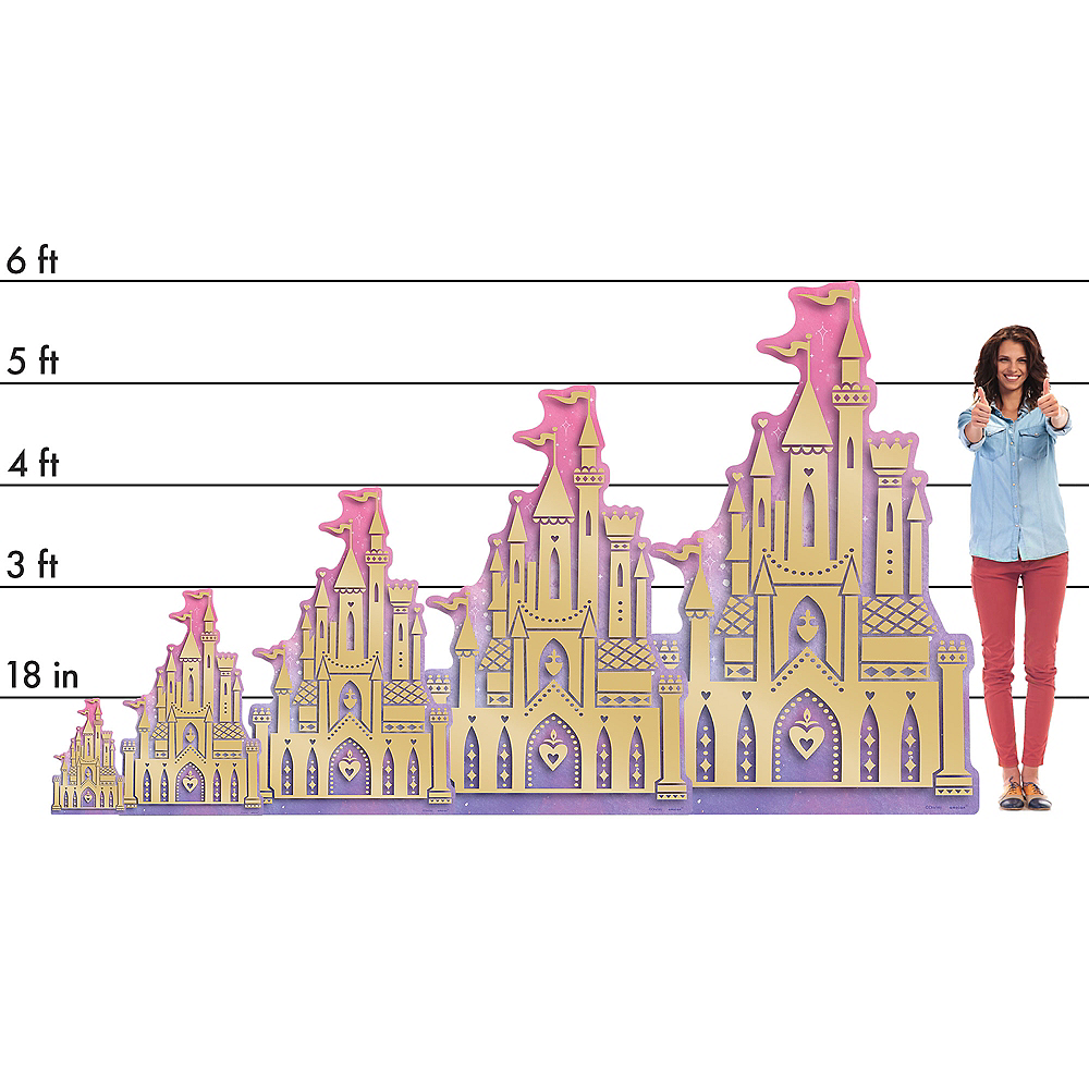 Sleeping Beauty's Castle Standee Image #2