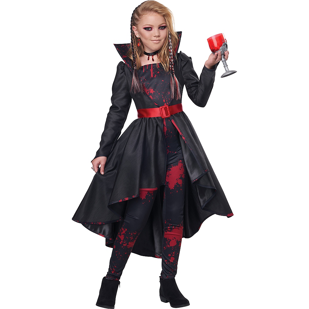 Child Bad Blood Vampire Costume Image #1