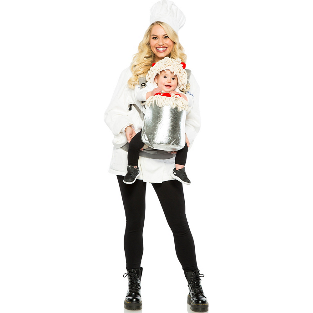 Nav Item for Chef & Spaghetti Baby & Me Costume Image #1