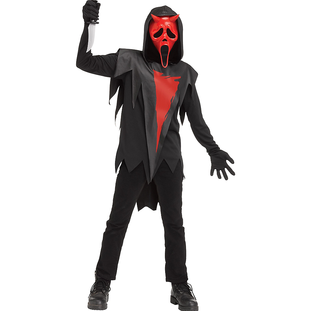 Child Devil Face Costume - Dead by Daylight Image #1