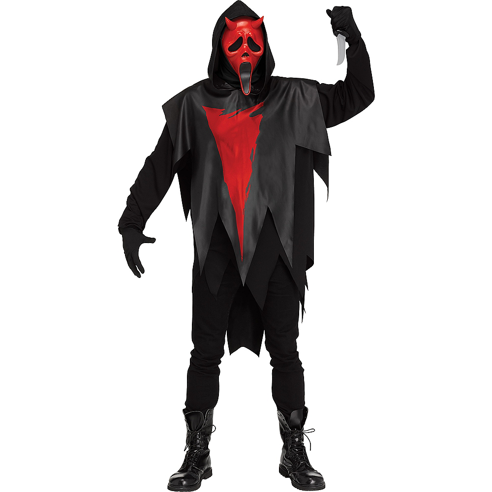 Adult Devil Face Costume - Dead by Daylight Image #1
