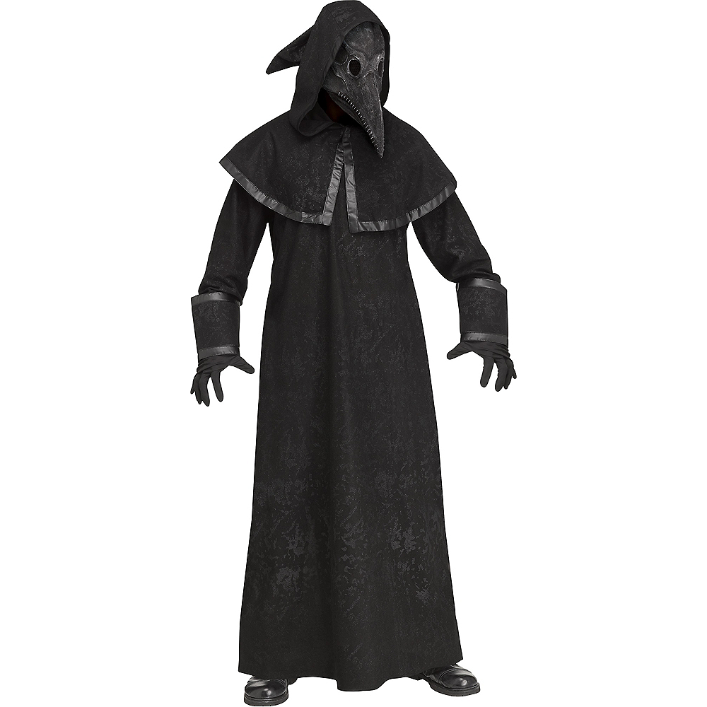Adult Plague Doctor Costume Image #1