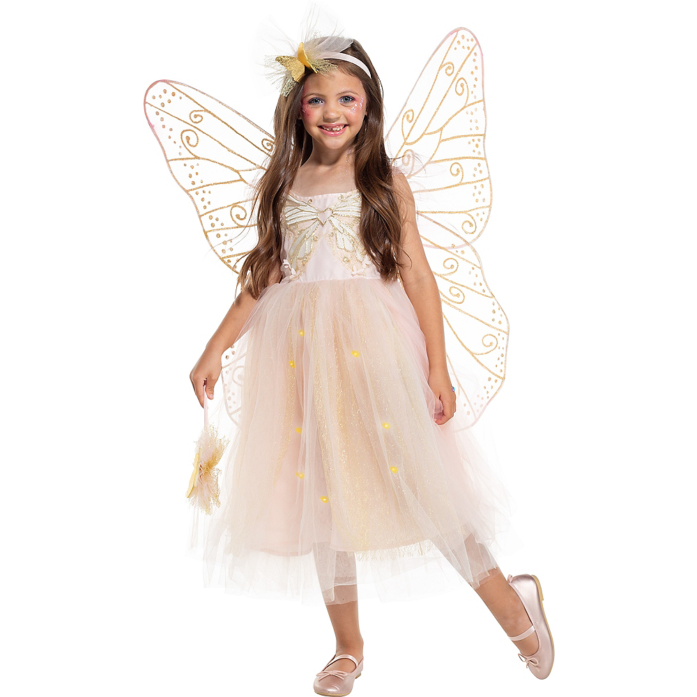 Child Light-Up Butterfly Fairy Costume Image #1