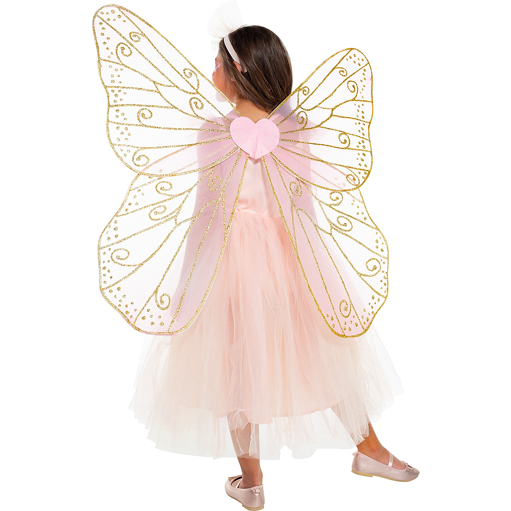 Child Light-Up Butterfly Fairy Costume Image #2